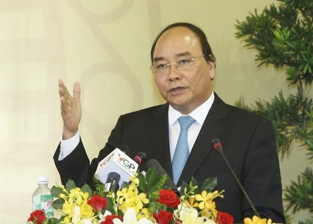 Thủ tướng Chính phủ Nguyễn Xuân Phúc. Ảnh: VGP.