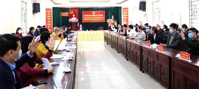 Ủy ban MTTQ Việt Nam tỉnh Thái Nguyên tổ chức Hội nghị hiệp thương lần thứ nhất.