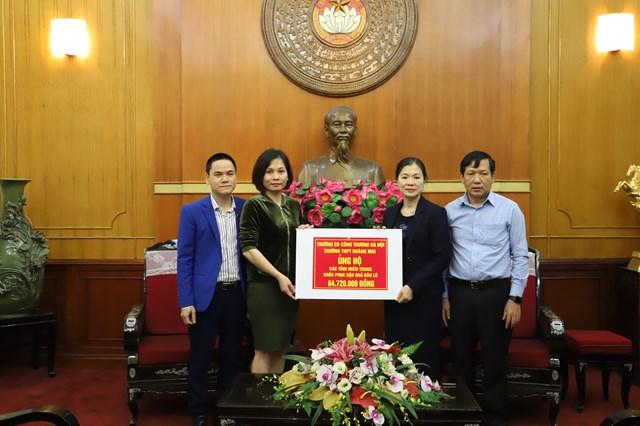 265 tỷ đồng ủng hộ đồng bào các tỉnh miền Trung.