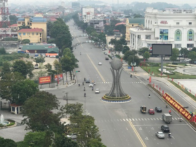 Thành phố Việt Trì (Phú Thọ) ngày nay.