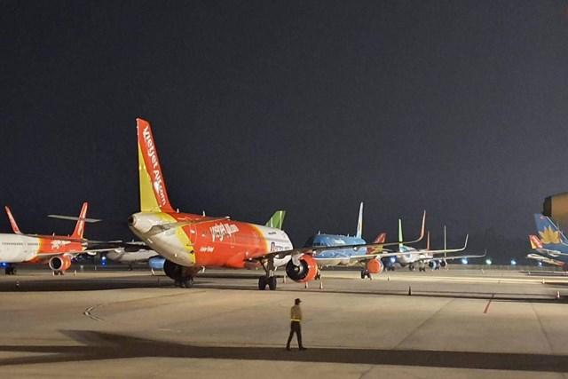 Các hãng hàng không trong nước hiện đang suy kiệt về vốn do dịch bệnh Covid-19.