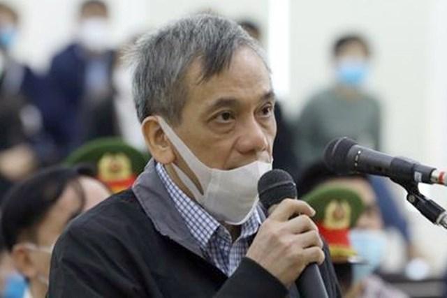 Bị cáo Trần Lục Lang tại tòa. Ảnh: TTXVN.