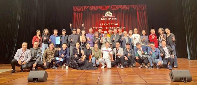 Nhà hát Kịch Hà Nội khởi công 2 vở diễn mới - Ảnh 1