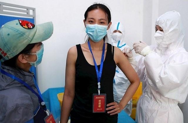 Tiêm vaccine ngừa dịch bệnh phổ biến ở Trung Quốc. Nguồn: DPA.