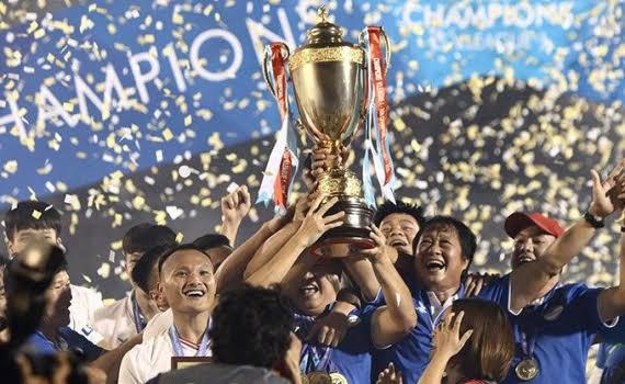 Viettel đăng quang V.League 2020.