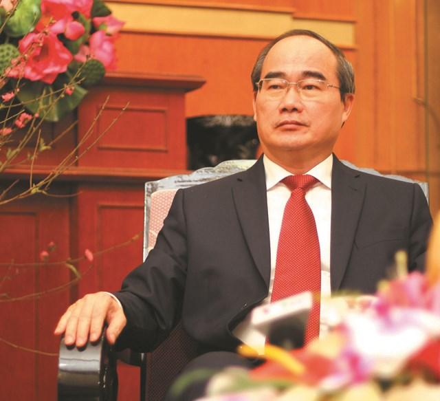 Nguyên Chủ tịch UBTƯ MTTQ Việt Nam Nguyễn Thiện Nhân. Ảnh: Tiến Dũng.