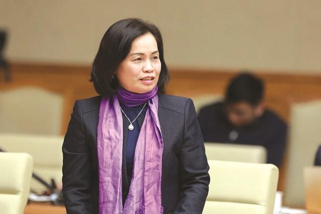 Bà Bùi Thị Thanh,nguyên Phó Chủ tịch UBTƯ MTTQ Việt Nam.