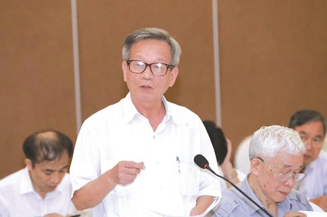 Ông Lê Truyền. Ảnh: Phạm Quang Vinh.