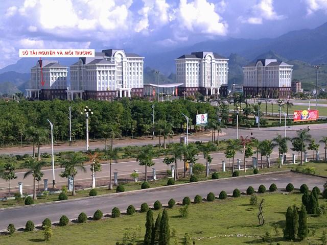 Trụ sở Sở Tài nguyên và Môi trường tỉnh Lai Châu.