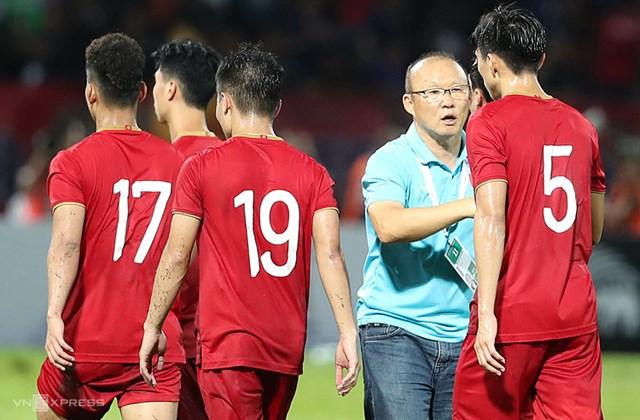 HLV Park Hang Seo có lý của riêng mình khi chọn quân.