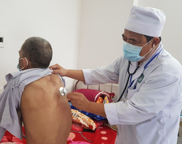 Một bệnh nhân Whitmore điều trị tại Bệnh viện đa khoa tỉnh Phú Yên.