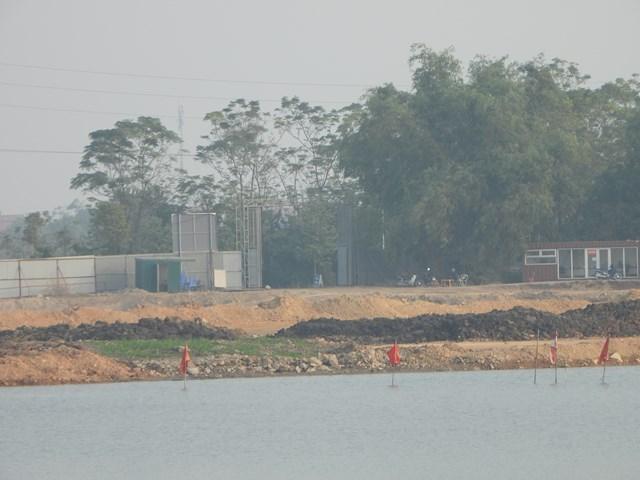 Dự án Khu đô thị mới TMS Land Đầm Cói tại TP. Vĩnh Yên do Công ty CP Tập đoàn TMS làm chủ đầu tư sau gần chục năm bỏ hoang hóa.