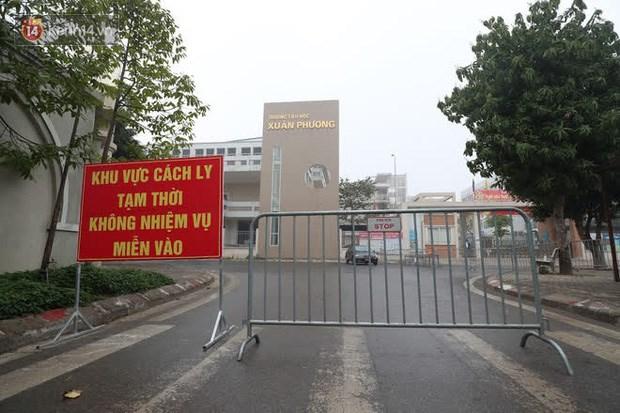 Trường Tiểu học Xuân Phương.
