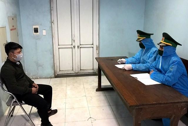 Vũ Ngọc Yên thừa nhận trốn trên cabin xe tải để nhập cảnh trái phép và tránh cách ly tập trung.