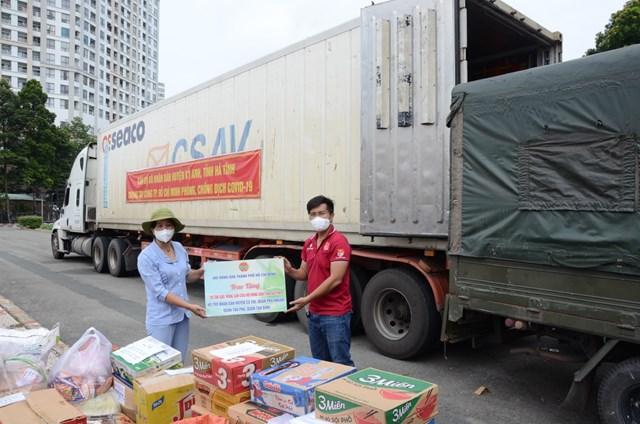 Hà Tĩnh: Huyện Kỳ Anh ủng hộ hơn 129 tấn lương thực, thực phẩm cho đồng bào miền Nam - Ảnh 7