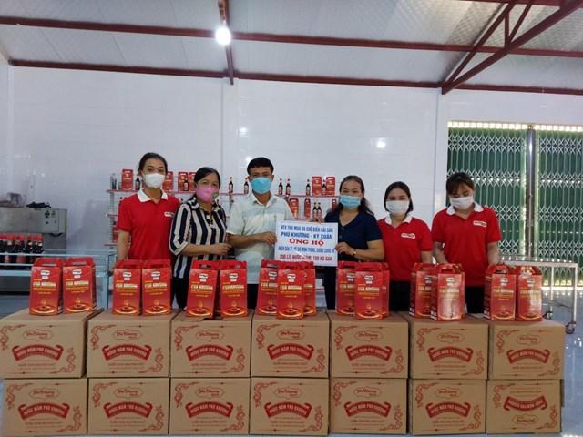 Hà Tĩnh: Huyện Kỳ Anh ủng hộ hơn 129 tấn lương thực, thực phẩm cho đồng bào miền Nam - Ảnh 5