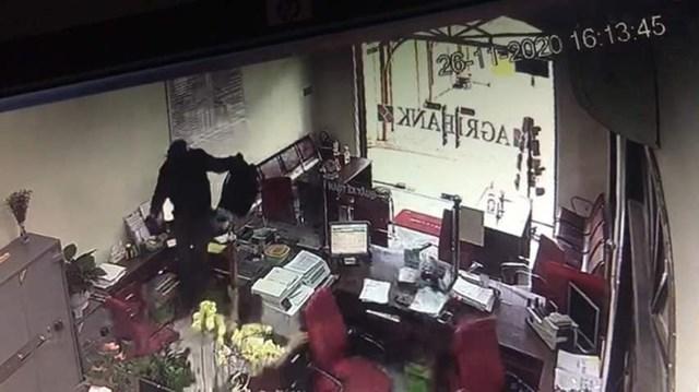 Hiện trường vụ cướp