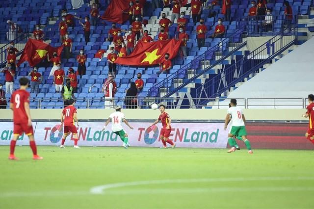 Đội tuyển Việt Nam lần đầu tiên giành vé vào vòng loại cuối cùng World Cup 2022 (Ảnh: 24h.com.vn)