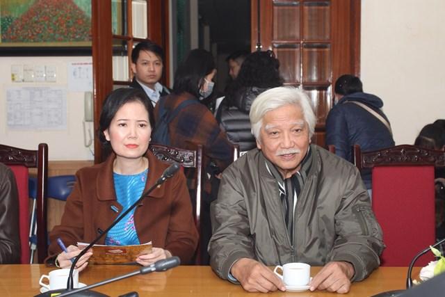 Nhà sử học Dương Trung Quốc tham dự lễ trao tặng.