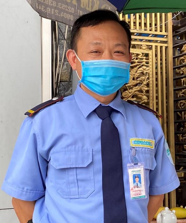 Ông Trần Văn Phong, phường Quang Trung, TP Uông Bí.