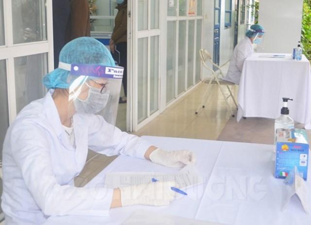 Công tác chuẩn bị của Trung tâm Y tế TP Hải Dương cơ bản đáp ứng yêu cầu cho việc tiêm vaccine Covid-19 vào ngày 8.3