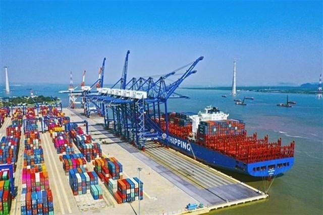 Bến cảng số 1, số 2, cảng Lạch Huyện (ảnh haiphong.gov.vn)