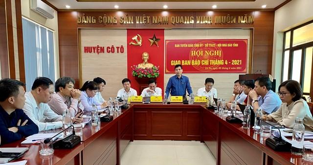 Huyện Cô Tô công bố kế hoạch tổ chức kỷ niệm 60 năm Ngày Bác Hồ ra thăm đảo Cô Tô.
