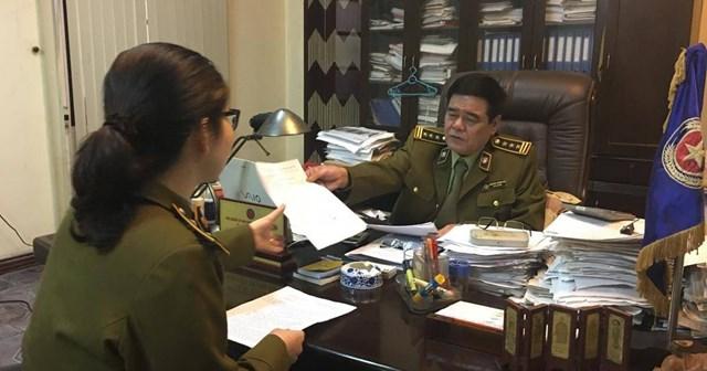 """Khi còn giữ chức vụ Quyền Cục trưởng Cục Quản lý thị trường tỉnh Hải Dương đã """"bị tố"""" nhận tiền để chạy việc cho nhiều người"""
