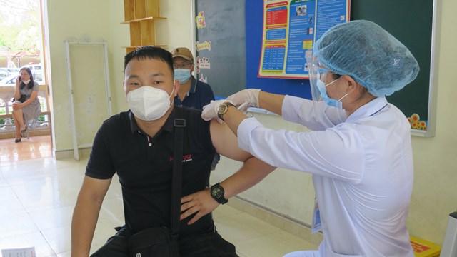 Tính đến nay, Hải Phòng được Bộ Y tế phân bổ khoảng 165 nghìn liều vaccine.