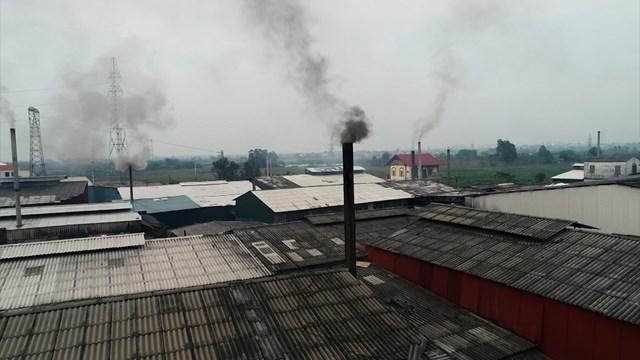 Khẩn trương thanh tra việc cấp phép môi trường ở Bắc Ninh. Ảnh: Hà An.