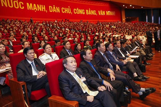 Thông cáo báo chí ngày làm việc thứ hai Đại hội Đảng toàn quốc lần thứ XIII