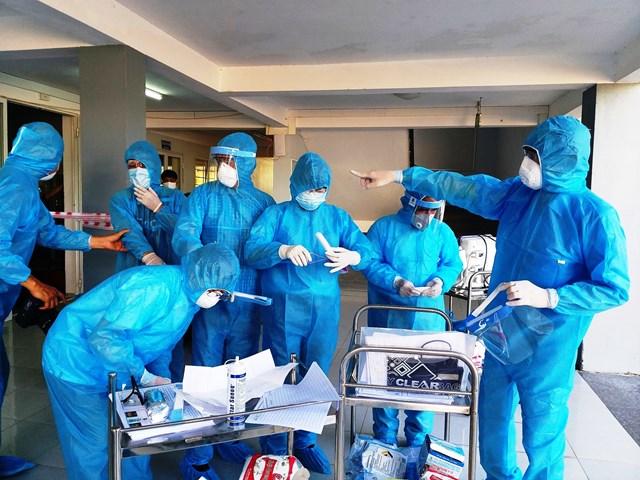 CDC Quảng Nam sẵn sàng lấy mẫu xét nghiệm Covid-19 trên diện rộng.
