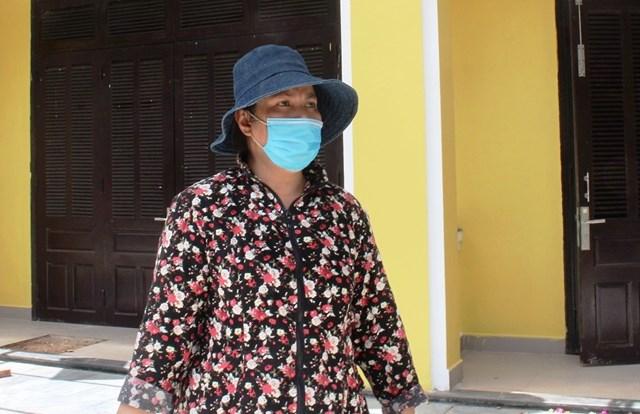 Bà Liên nói về khó khăn do ảnh hưởng dịch bệnh.