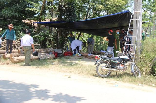 Nơi phát hiện một người đàn ông tử vong ở Quảng Nam. (Ảnh minh họa)