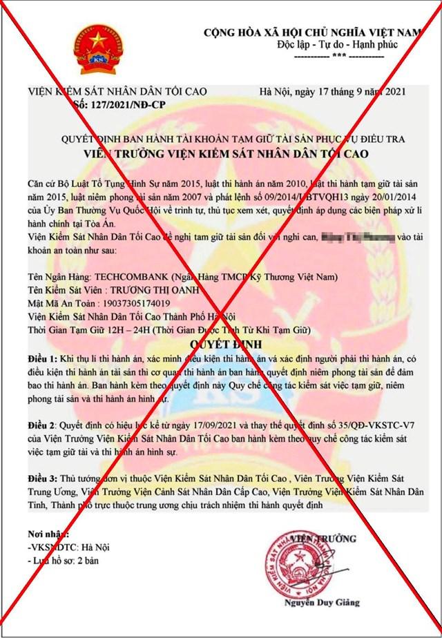 Quảng Nam: Ngăn chặn kịp thời vụ lừa đảo chuyển tiền  - Ảnh 1