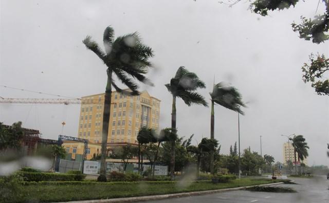 Mưa mỗi lúc càng lớn, gió mỗi lúc càng mạnh.