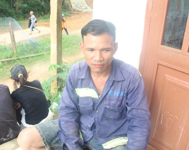 Ông Nguyễn Thành Sơn kể lại sự việc.