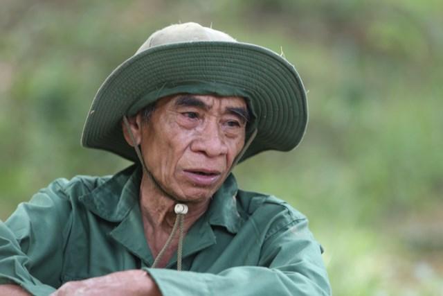 Ông Hồ Văn Đề kể lại tình cảnh của mình.