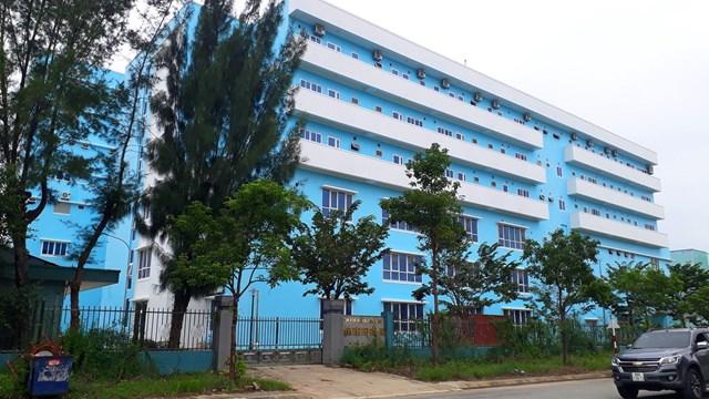 Một góc Bệnh viện Phụ sản - Nhi Quảng Nam.