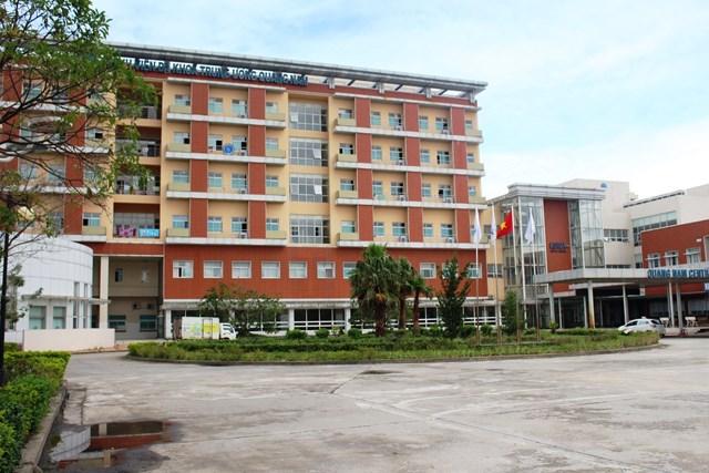 BVĐKTƯ Quảng Nam nơi xảy ra sai phạm về BHYT.