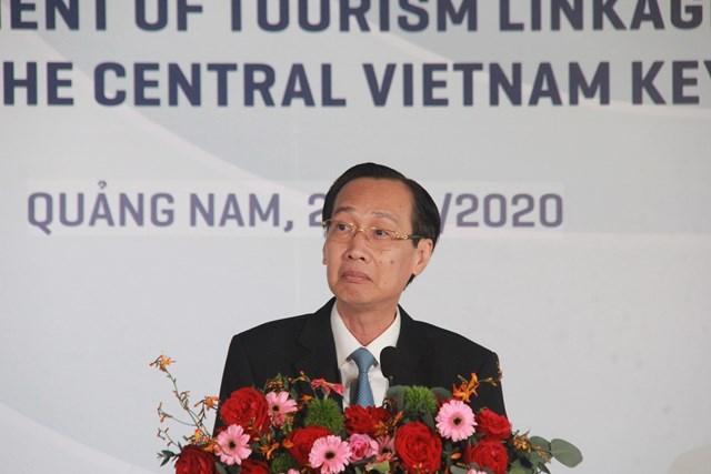 Ông Lê Thanh Liêm, Phó Chủ tịch UBND TP Hồ Chí Minh phát biểu tại Diễn đàn.