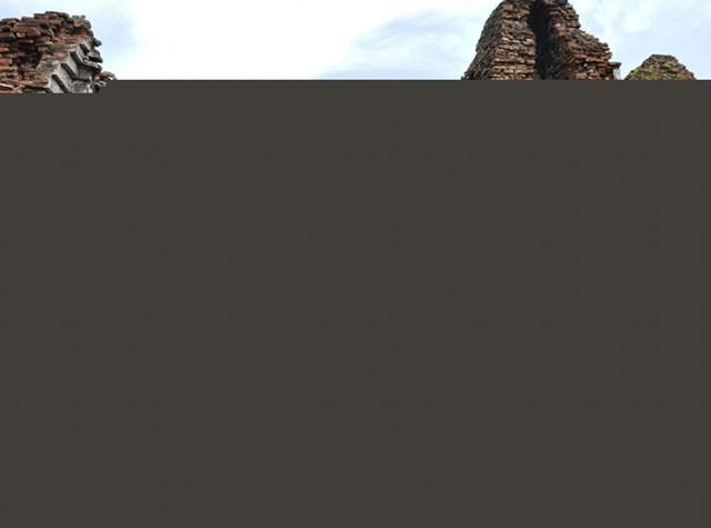 Một góc di sản văn hóa thế giới- tháp Mỹ Sơn.