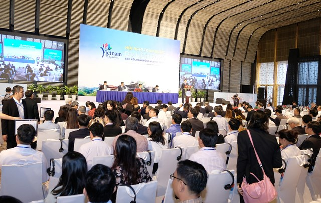 Quang cảnh Hội nghị toàn quốc về Du lịch năm 2020.