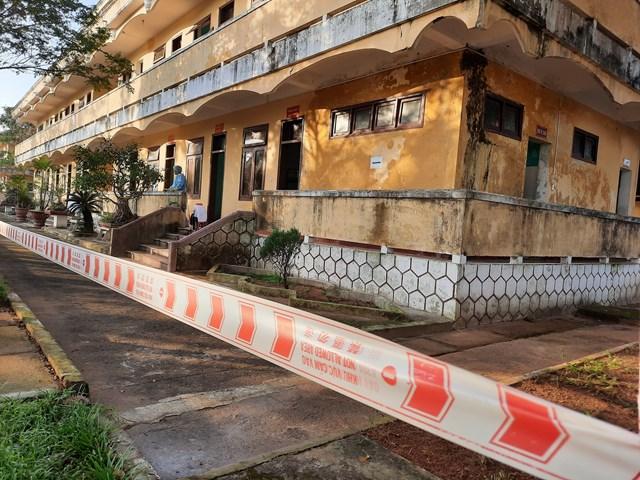 Một khu cách ly tại Quảng Nam trong đợt dịch Covid-19 vừa qua.