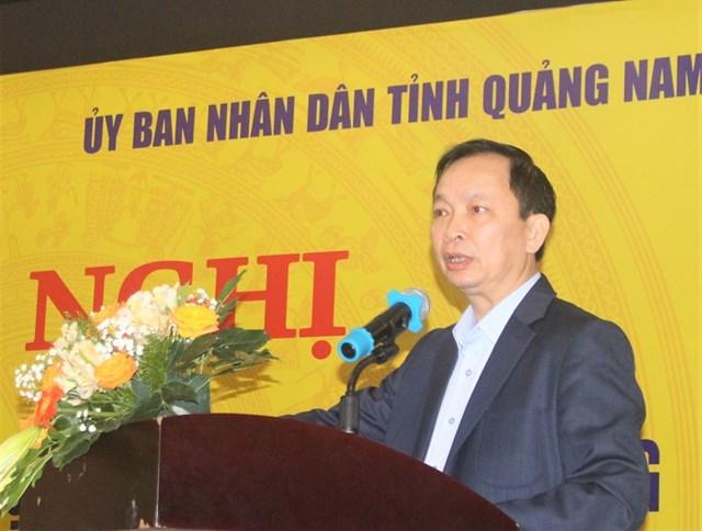 Ông Đào Minh Tú, Phó Thống đốc Thường trực NHNN Việt Nam phát biểu tại hội nghị.
