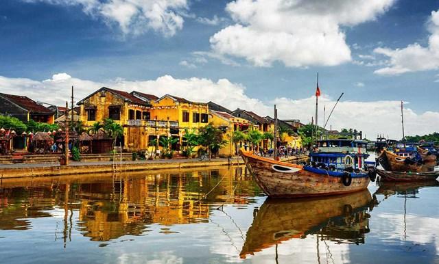 Một góc phố cổ sông Hoài, Hội An.