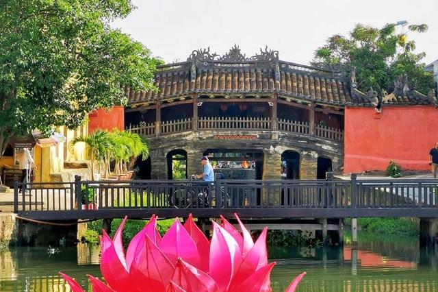 Cầu Chùa, biểu tượng văn hóa độc đáo của Hội An.
