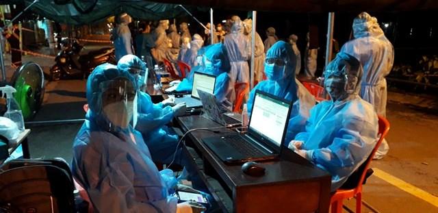 Huyện Hóc Môn có các chuỗi lây nhiễm liên quan nhiều người.