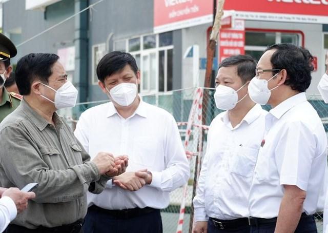 Thủ tướng Phạm Minh Chính chỉ đạo công tác phòng chống dịch tại TP HCM