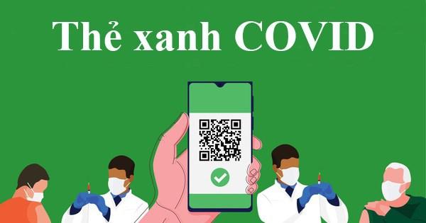 """""""Thẻ xanh Covid"""" tạo điều kiện thuận lợi cho người dân sinh hoạt trong trạng thái bình thường mới."""